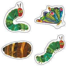 Celebrate the Anniversary of The Very Hungry Caterpillar(TM) with these ass. Celebrate the Anniversary of The Very Hungry Caterpillar(TM) with these assorted cut-outs featuring artwork from The World of Eric Carle(TM).