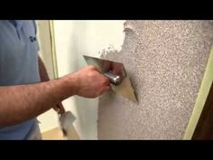 YouTube Plaster, Door Handles, Youtube, Wall, Mineral, Home Decor, Gypsum, Decoration Home, Plaster Of Paris