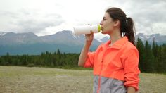 Runner Holding Bottle Of Water While Resting After Evening Jog Outside, #Active, #Exercise, #Female, #Fit, #Fitness, #Girl, #Healthy, #Lifestyle, #Outside, #Recreation, #Runner, #Sibstock, #Training, #Water, #Woman, #Workout https://goo.gl/5ShTR9