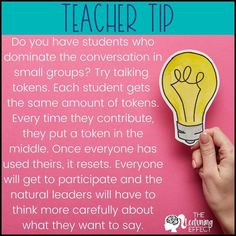 possible text that says TEACHER TIP Build better relationships wiYou can find Teaching ideas and more on our website.possible tex. Classroom Behavior, Future Classroom, School Classroom, Classroom Management Tips, Classroom Organisation, Behavior Management, Teaching Secondary, Teacher Boards, Today Tips