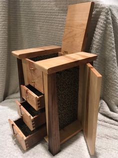 Stand Alone Jewelry Box 9 Free Diy Jewelry Box Plans  Pinterest  Jewelry Box Plans Diy