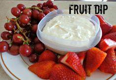 Foodie Friday Fruit Dip