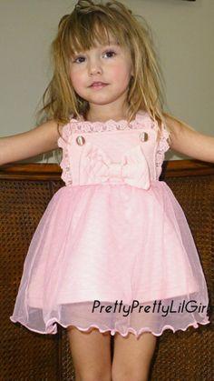 Little Girls Dress Girls Clothes Girls by PrettyPrettyLilGirls, $33.99