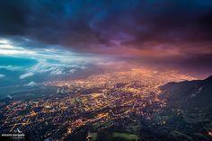Grenoble depuis le St-Eynard Crédit : Vincent Viargues photographies
