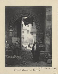 Cairo Street Scene  1907