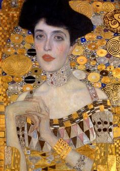Gustav Klimt Portrait Of Adele Bloch Bauer I Neue Galerie New York 1907 Stained Glass Vacation Until On October Gustav Klimt Portrait Of Adele Bloch Bauer I Neue Galerie New York 1907 Stained Glass Vacation Until On October Warning I Am On Gustav Klimt, Art Klimt, Adele Klimt, Neue Galerie New York, Woman In Gold, Johannes Vermeer, Virtual Art, Most Famous Paintings, Art Moderne
