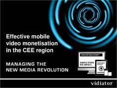 Vidiator find consumers are ready for mobile video, but no-one is serving them