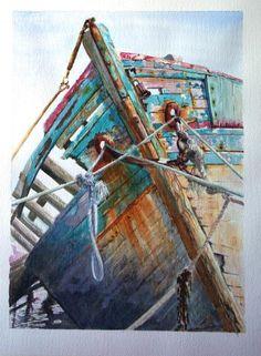 ARTIST: Avril Soldani ~ (Watercolour)