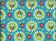 Owls Garden Hootyblooms Sweat türkis Jolijou