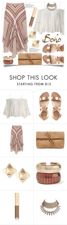 """""""Untitled #1092"""" by kaymeans ❤ liked on Polyvore featuring Sans Souci, 10 Crosby Derek Lam, LULUS, Valentino, Rosantica and Dolce&Gabbana"""