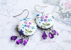 My Purple Ears by Rose Belyea on Etsy
