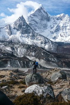 Find a peak and climb it - Nepal via Colby Brown Places Around The World, Oh The Places You'll Go, Places To Travel, Places To Visit, Around The Worlds, Monte Everest, Nepal, Water Ripples, Photos Voyages