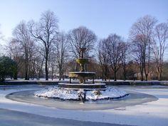 Winter in Fitzgerald's Park,Cork, Ireland