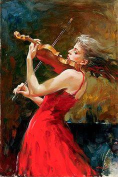 'The Passion of Music'   by Andrew Atroshenko