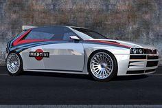 Lancia Delta HF Integrale Concept: 3D-Rendering by Alain Brand - Bilder - autobild.de
