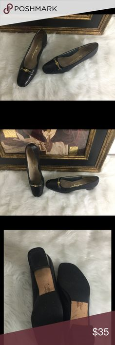 """🆕Listing. Salvatore Ferragamo Loafers.  Sz 7.5A Salvatore Ferragamo loafers.  In good condition.  There is a little scuff.  Hard to see. The soles have been redone. Heel height 1.5"""" Salvatore Ferragamo Shoes Flats & Loafers"""