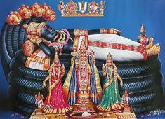 Lord Sri Ranganathaswamy - Hindu Posters (Reprint on Paper - Unframed) Krishna Sudama, Lord Krishna, Lord Shiva, Navratri Puja, Lord Murugan Wallpapers, Indiana, Shri Yantra, Hindu Mantras, Radha Krishna Wallpaper