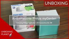 LED-Aussenleuchte 3W Philips myGarden - Unboxing Planet In China, Led, Video News, Videos, Planets, Personal Care, Personal Hygiene, Video Clip