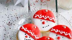 Snowman cookies | Sablés Bonhomme de Neige