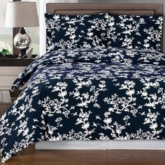 Beautiful solid Navy Blue Duvet Cover