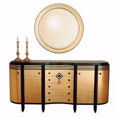 Lawrence J. Perna, Fine Furniture Art Deco Sideboard