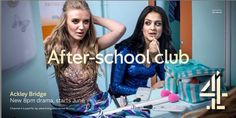 Ackley Bridge, After School Club, Movies And Tv Shows, Movie Tv, Channel, People, Boards, Planks, People Illustration