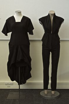 Embedded Zero waste by Holly Mcquillan #fashiontakesaction (The one on the right.)