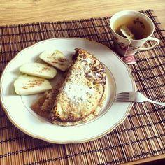 Ook een fijn ontbijtidee: havermout pannenkoekjes! Meer goede en gezonde ideetjes op Rootsandfoods.nl!