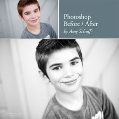 Before and After: converting to black and white photo