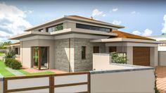 Modern családi ház / mediterrán családi ház