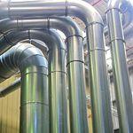 galvanised ducting