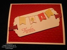 Scalloped Tag Topper Punch Card