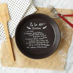Shanna Murray Recipe Pie Dish #westelm