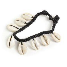 Multiple Cowrie Shell Bracelet (J-B330)