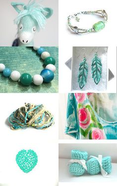 Mint Whispers by Asta on Etsy--Pinned with TreasuryPin.com