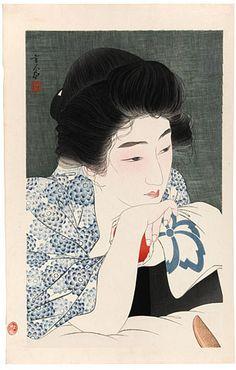 Torii Kotondo, 1900-1976 Morning Hair (Asanegami)