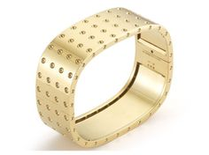 Check out this show-stopping Roberto Coin 18K Rose Gold 4-Row Bangle from the Pois Moi Collection!!