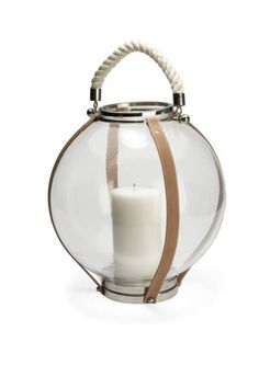 These lanterns will bring a soft glow to any porch or poolside.