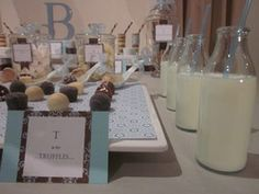 Little boy blue, we're waiting for you.  Baby Shower/Sip & See