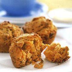 Wortelmuffins met abrikozen en pecannoten @ allrecipes.nl
