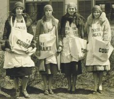 junior league newsies, 1920s