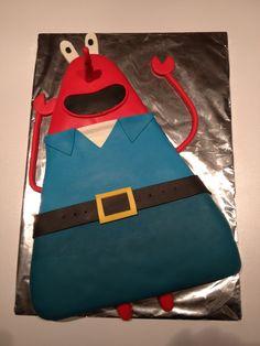 Spongebob taart mr. Krabs