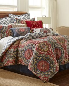 Exclusively Ours - Tapestry Fall Five-Piece Comforter Collection, Main View