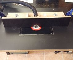 Make a cheap router table that is easily stored.