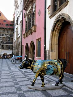 Cow Parade, Prague, Czech Republic