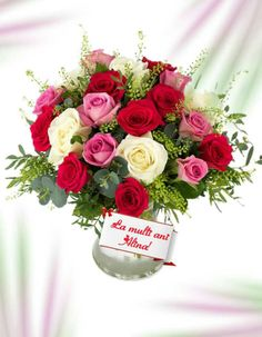 Congratulations, Floral Wreath, Happy Birthday, Wreaths, Table Decorations, Beautiful Flowers, Names, Bonito, Happy Aniversary