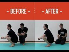 Calf Stretch for Deeper Squats