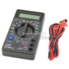 Hot Sale E74 Mini Digital Multimeter with Buzzer Voltage Ampere Meter Test Probe DC AC LCD   Price: US $3.77   http://www.bestali.com/goto/32332557872/10