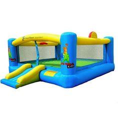 Kids WWE Superstars Bouncer Inflatable Children Indoor Outdoor Bouncing Playset