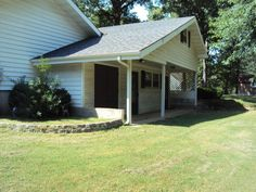 Great location -corner lot-good investment property. Brick and vinyl ranch style home-has 3-4 B/R's with security system , Andersen windows, with oversized 2 car attached garage on 105x210 lot. Amenities offer L/R- D/R-F/R -sunroom brick F/P w/ gas logs,fully equipped kitchen.Covered front porch and patio. Nice apt,which is heated and cooled perfect for extended family and includes overhead storage in West Plains MO